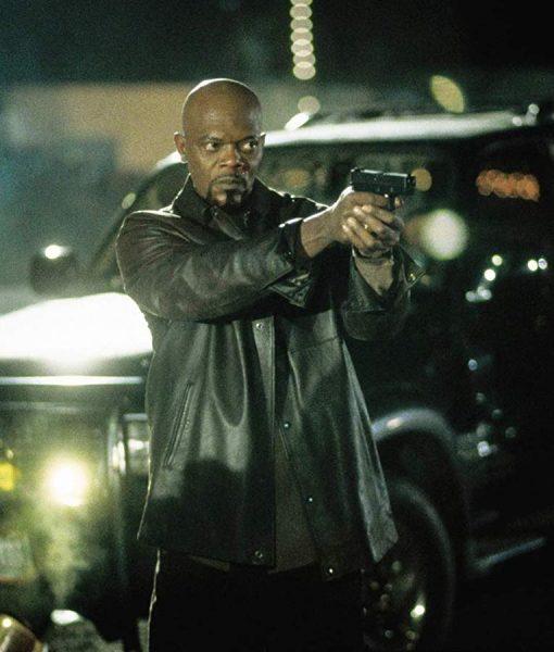John Shaft 2000 Black Jacket