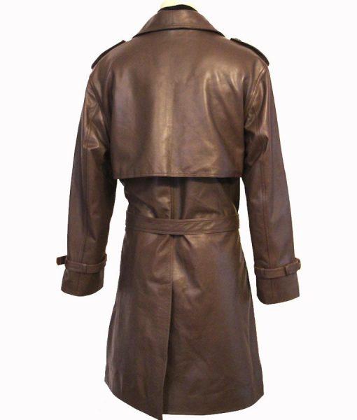 Shaft Leather Coat