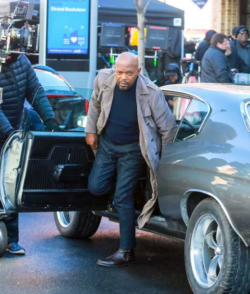 John Shaft Grey Coat