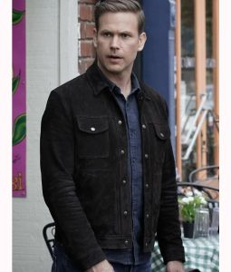 Alaric Saltzman Suede Leather Jacket