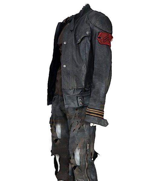 Terminator Salvation Marcus Wright Black Jacket