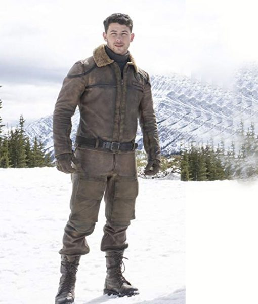Nick Jonas Jumanji 2 Flight Jacket