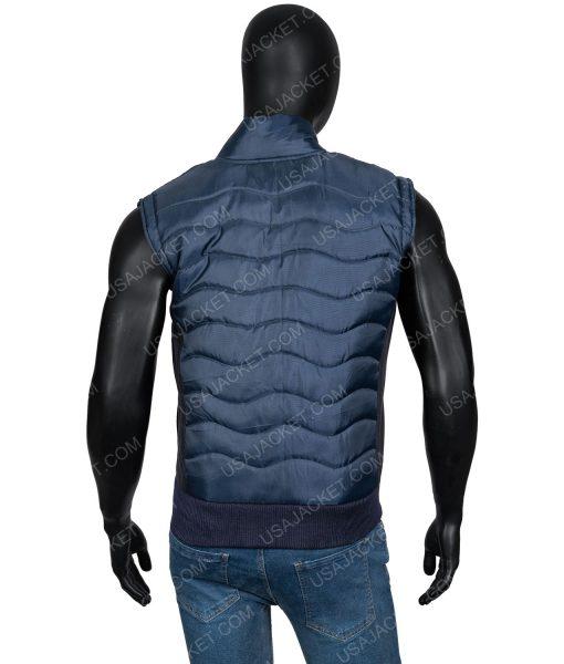 Power James St. Patrick Quilted Blue Vest