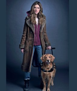Murphy In The Dark Shearling Leather Coat