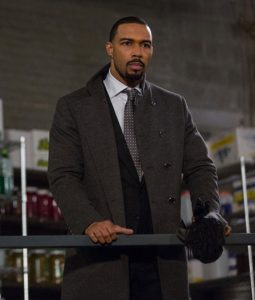 Omari Hardwick Power Trench Coat