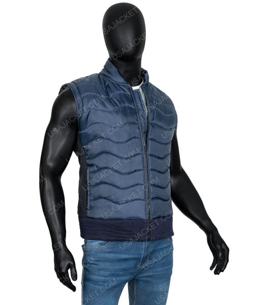 Omari Hardwick Power Quilted Vest
