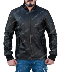 Power Joseph Sikora Black Bomber Jacket