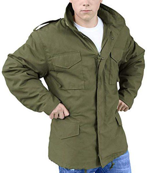 Sylvester Stallone Rambo 05 Military Jacket