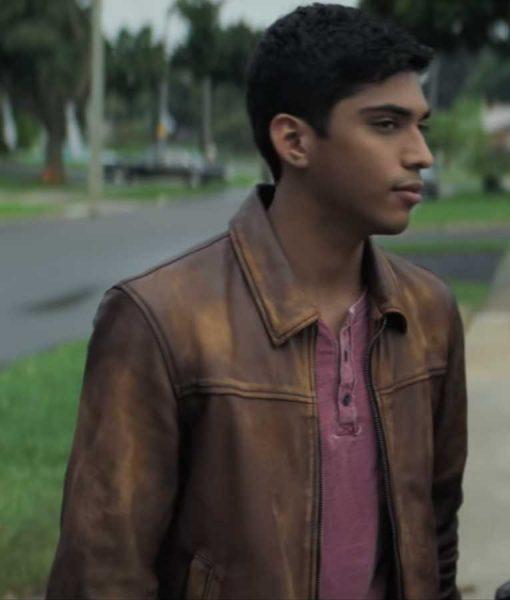 Roman Morales Brown Leather Jacket