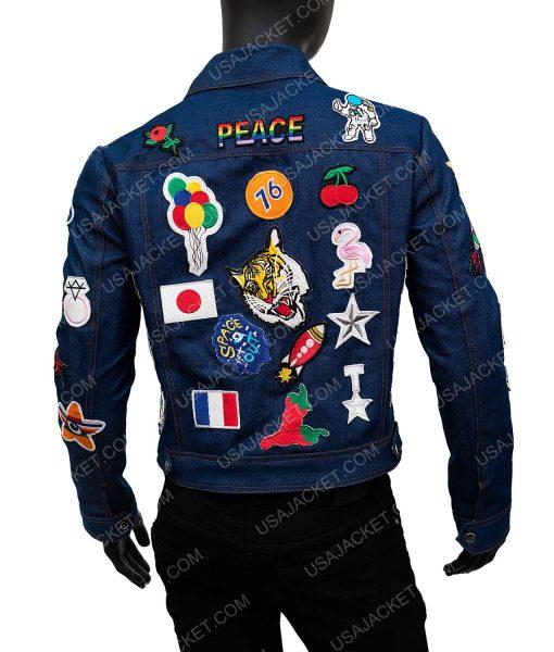 Taron Egerton Denim Jacket
