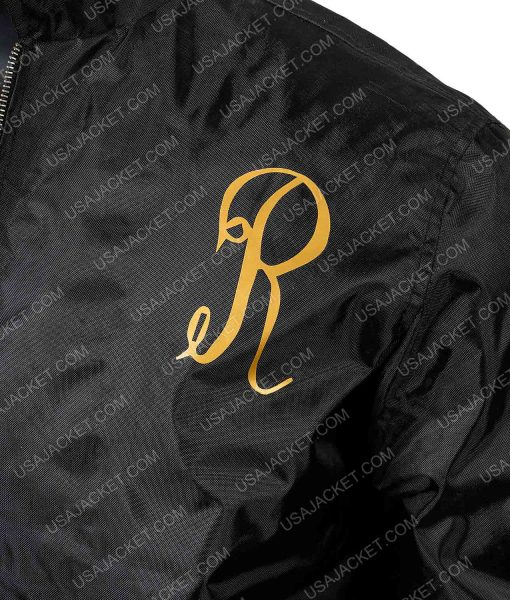 Black Rocky 3 Italian Stallion Jacket