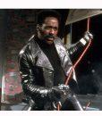 Shaft 1971 Black Leather Jacket