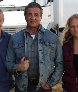 Rambo Last Blood Sylvester Stallone Denim Jacket