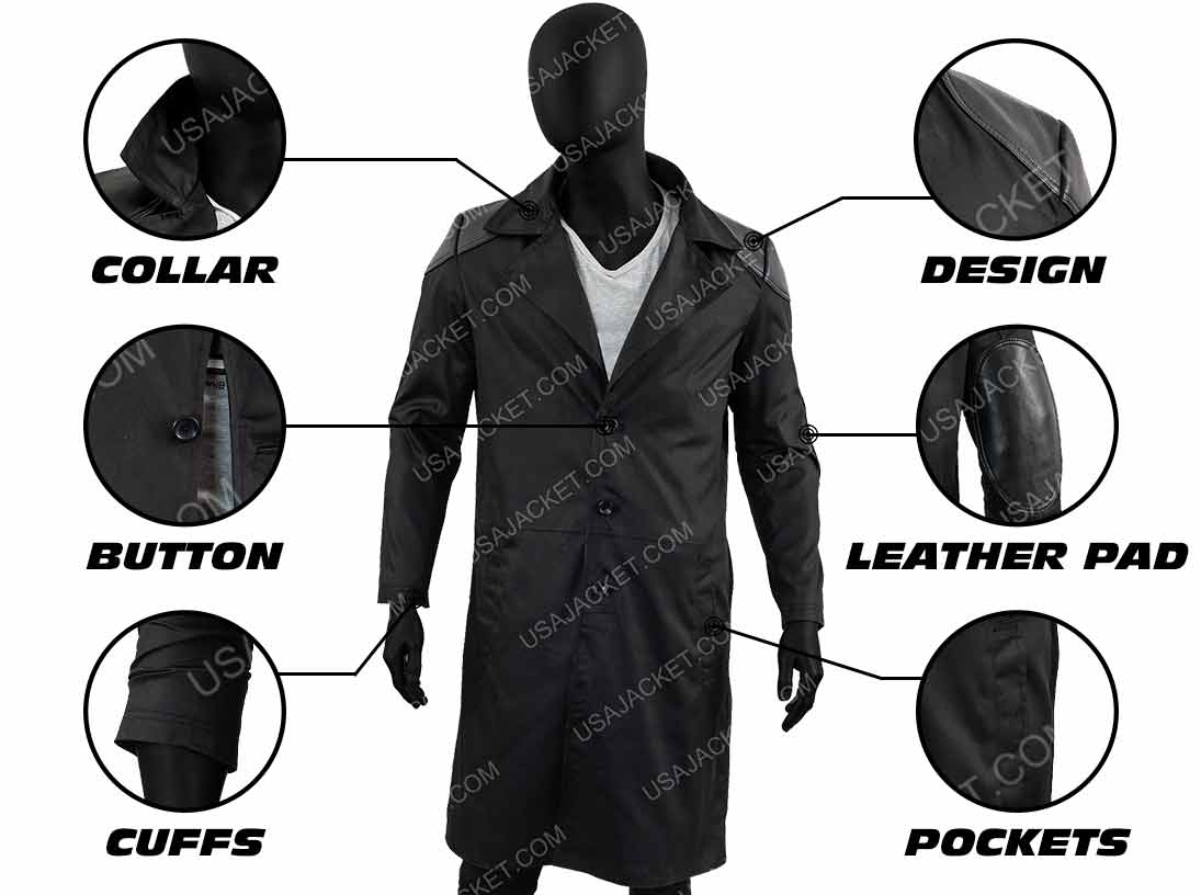 The Boys Billy Butcher Coat Infography
