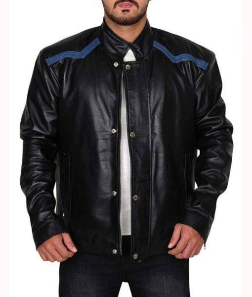 Zombieland Woody Harrelson Black Jacket