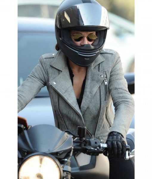 Fast and Furious 8 Letty Ortiz Motorcycle Leather Jacket