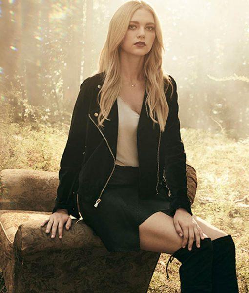 legacies lizzie leather jacket