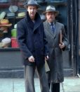 Motherless Brooklyn Lionel Essrog Wool Blend Pea Coat