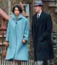 Edward Norton Motherless Brooklyn Double Breasted Trench Coat