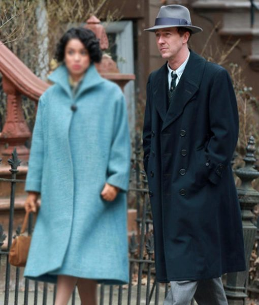 Motherless Brooklyn Lionel Essrog Black Long Jacket
