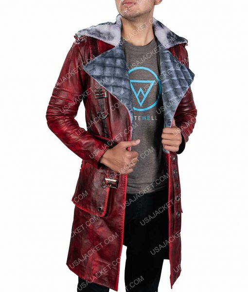Fallout 4 Nuka Raider Leather Long Jacket