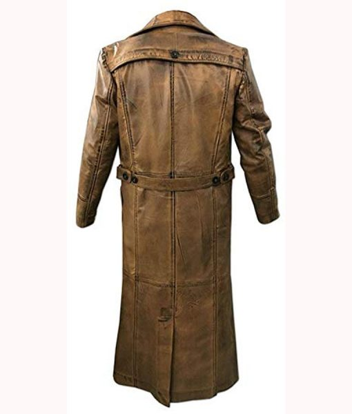 Edward Ratchett Leather Coat