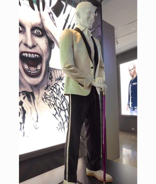 Jared Leto Joker Ivory Tuxedo
