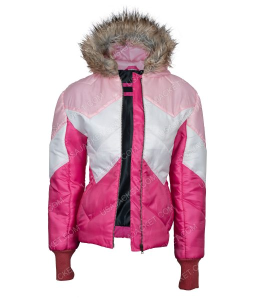 Madison Puffer jacket with fur hood