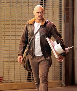Zeroville Dave Franco Brown Jacket