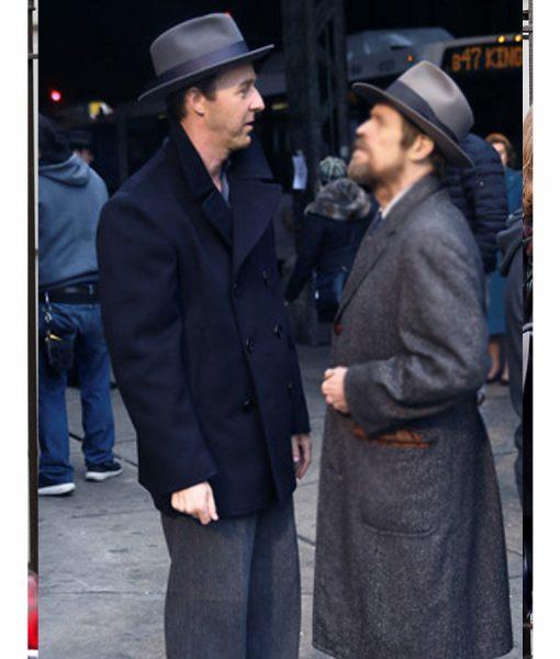 Lionel Essrog Motherless Brooklyn Pea Coat
