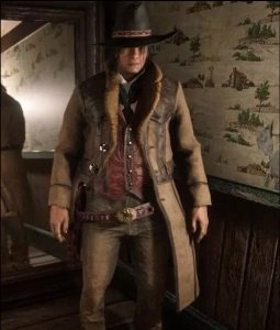Red Dead Redemption 2 Brown Coat