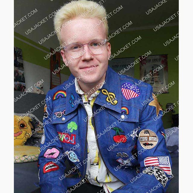 Rocketman Denim Jacket Customer Image