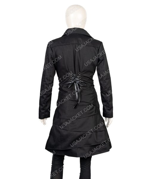 Silver Linings Playbook Black Cotton Coat