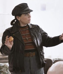 Susie Myerson The Marvelous Mrs. Maisel leather Jacket