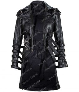 Syndicate Emma Thalos Black Belted Coat