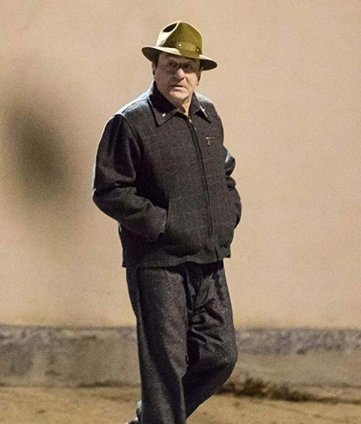 The Irish man Frank Sheeran Wool Jacket