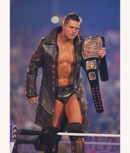 The Miz Michael Gregory Mizanin Black Leather Coat
