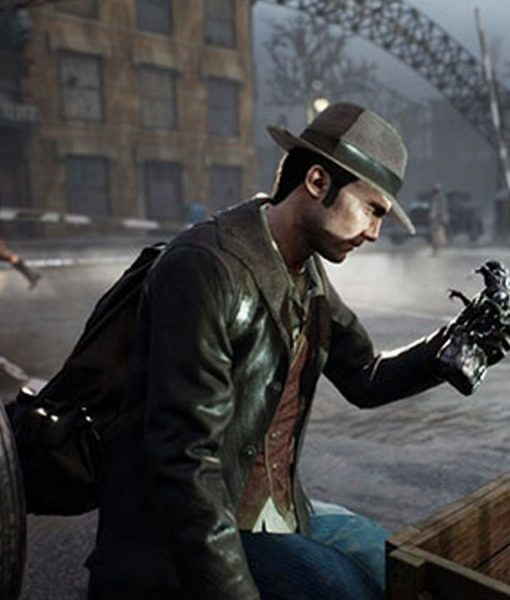 Video Game The Sinking City Shearling Coat