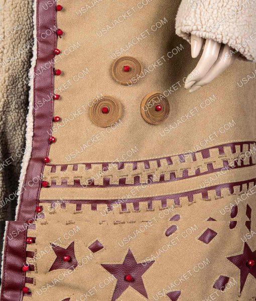 Vignette Stonemoss Carnival Row Cara Delevingne Suede Coat
