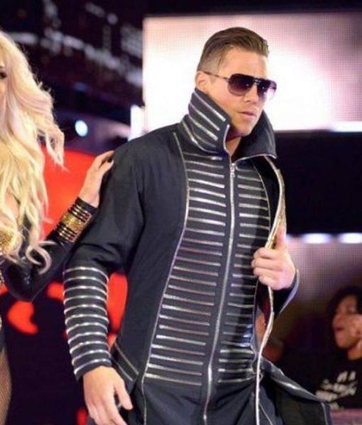 WWE The Miz Black Cotton Coat