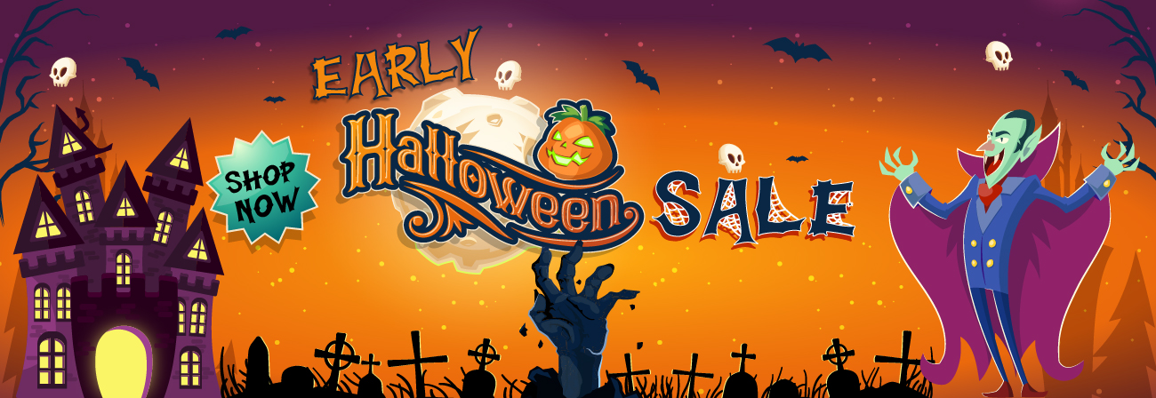 Early Halloween Sale