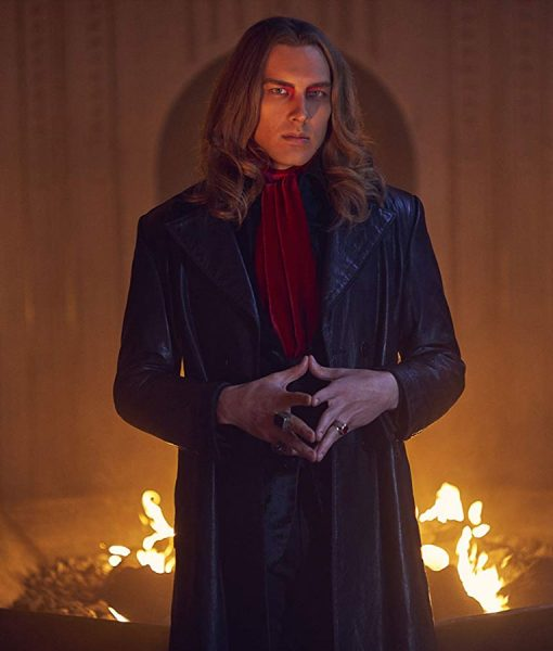 American Horror Story S09 Michael Langdon Leather Coat