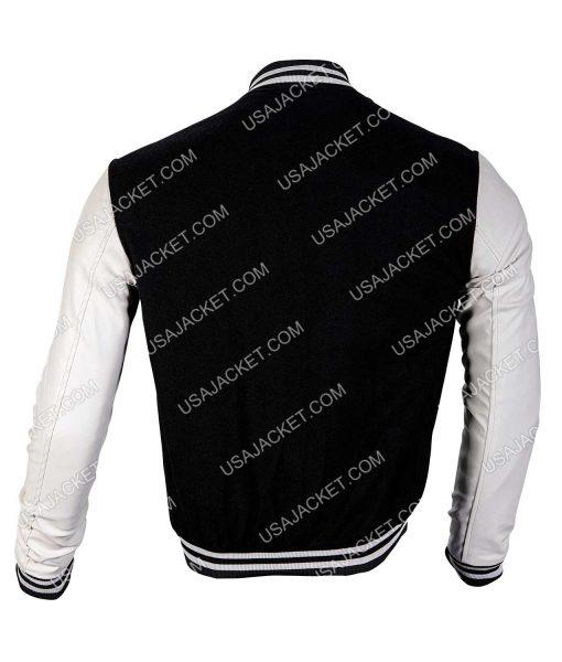 Black and White baseball Jacket