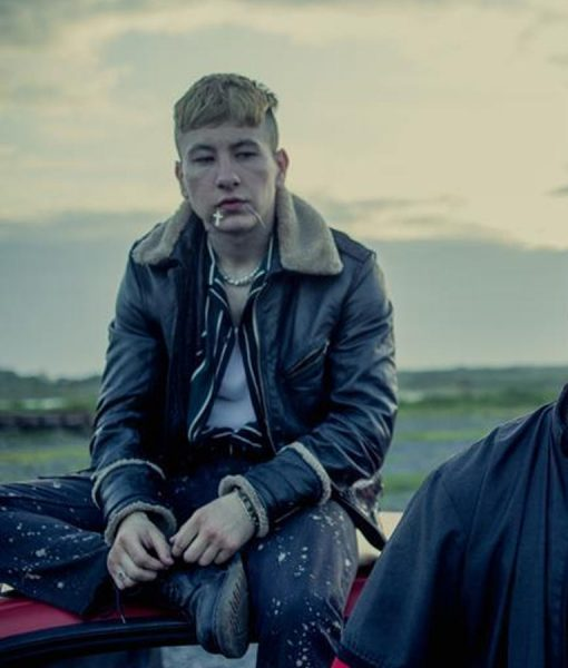 Calm with Horses Barry Keoghan Leather jacket