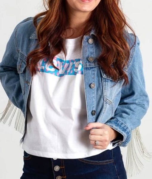 Constance Wu Hustler Denim Jacket