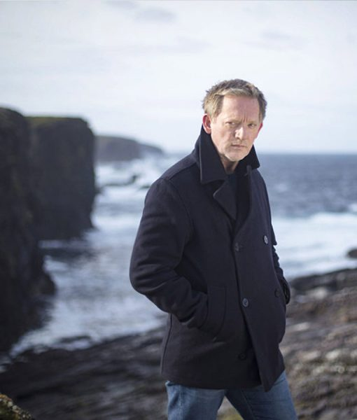 Shetland DI Jimmy Perez Double Breasted Jacket