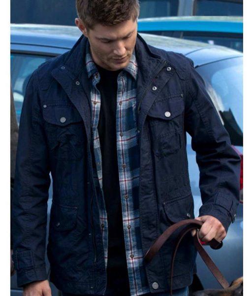 Dean Winchester Blue Cotton Jacket