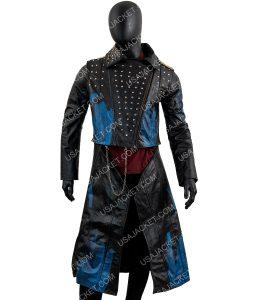 Descendants 3 Hades Cheyenne Jackson Studded Leather Coat