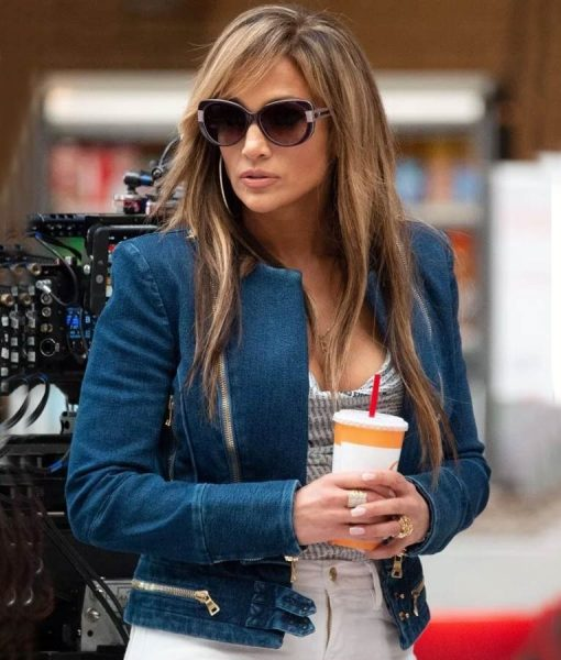 Hustler Jennifer Lopez Blue Jeans Jacket