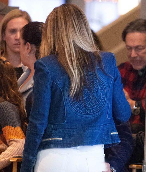 Hustler Ramona Blue Denim Jacket